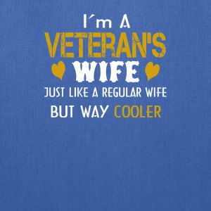 Veteran's Wife - Tote Bag