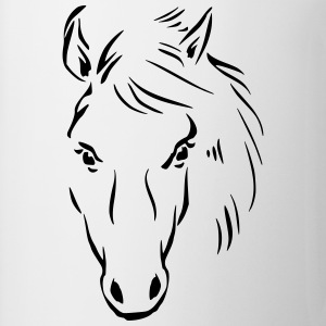 Horse Drawing T-Shirts - Coffee/Tea Mug
