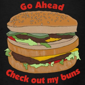 Check Out My Buns - Men's T-Shirt