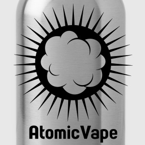 VAPE T-SHIRT ATOMIC VAPE T-Shirts - Water Bottle