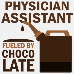 Physician Assistant Fueled By Chocolate Mugs & Drinkware - Men's Premium T-Shirt