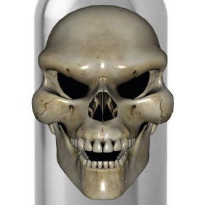 Angry Skull T-Shirts - Water Bottle