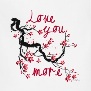Love You More -Cherry Blossom Tree - Adjustable Apron