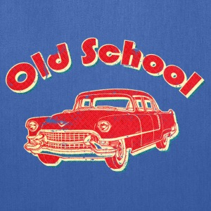 Old School Car Retro  Women's T-Shirts - Tote Bag