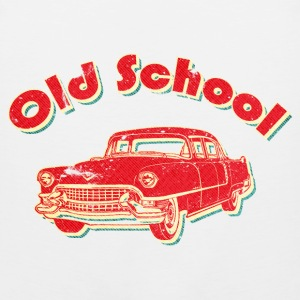 Old School Car Retro  Women's T-Shirts - Men's Premium Tank