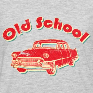 Old School Car Retro  T-Shirts - Men's Premium Long Sleeve T-Shirt