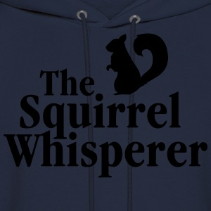 The Squirrel Whisperer Long Sleeve Shirts - Men's Hoodie