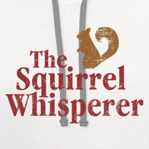 The Squirrel Whisperer Women's T-Shirts - Contrast Hoodie