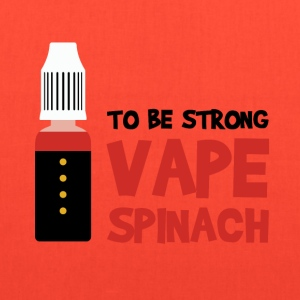 VAPE SPINACH T-Shirts - Tote Bag
