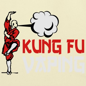 KUNGFU VAPING T-Shirts - Eco-Friendly Cotton Tote