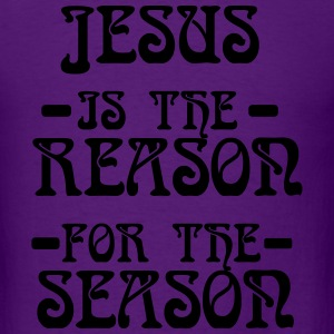 jesus is the reason for the Season Long Sleeve Shirts - Men's T-Shirt