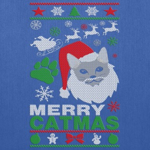 Merry Catmas Ugly Christmast Shirts T-Shirts - Tote Bag