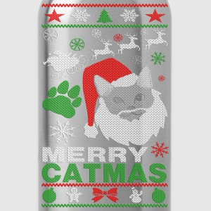 Merry Catmas Ugly Christmast Shirts Women's T-Shirts - Water Bottle
