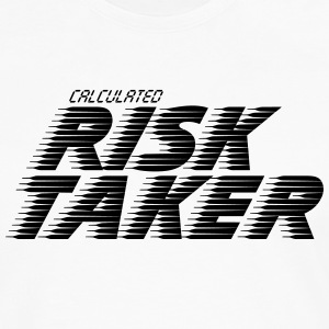 Calculated Risk Taker - Shirt - Men's Premium Long Sleeve T-Shirt