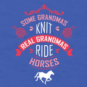 Real Grandmas ride Horses T-shirt Mugs & Drinkware - Men's T-Shirt