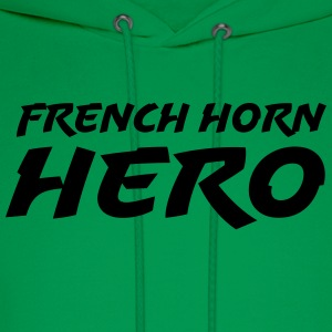 French Horn Hero - Men's Hoodie