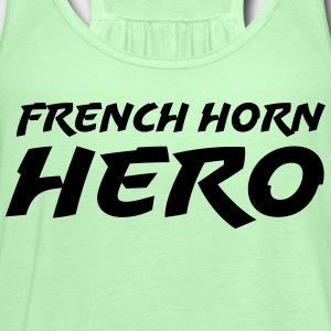 French Horn Hero - Women's Flowy Tank Top by Bella