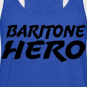 Baritone Hero - Women's Flowy Tank Top by Bella