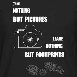 TAKE NOTHING BUT PICTURES - Men's Premium Long Sleeve T-Shirt