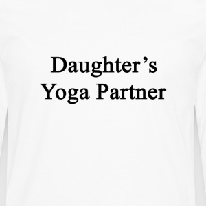 daughters_yoga_partner T-Shirts - Men's Premium Long Sleeve T-Shirt