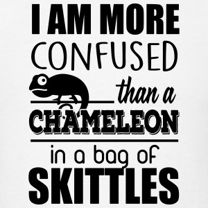 I am confused like a chameleon Tank Tops - Men's T-Shirt