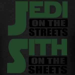 Jedi on the streets, sith on the sheets Tank Tops - Men's T-Shirt