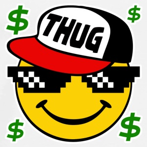 Thug Smiley Thug Emoticon Thug Life - Men's Premium T-Shirt