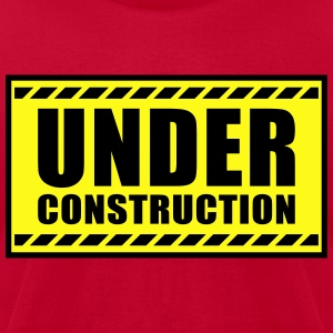 Under construction - Men's T-Shirt by American Apparel