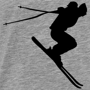 skiing, ski Tanks - Men's Premium T-Shirt