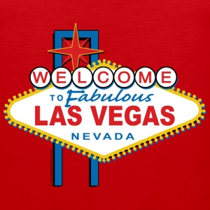 Welcome to Fabulous Las Vegas - Men's Premium Tank