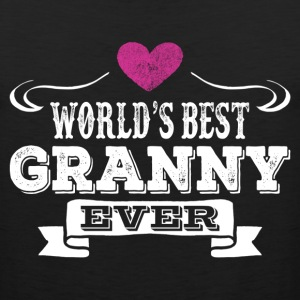 World's Best Granny Ever Women's T-Shirts - Men's Premium Tank
