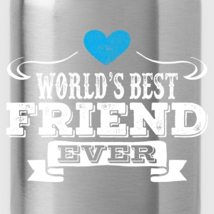 World's Best Friend Ever Hoodies - Water Bottle
