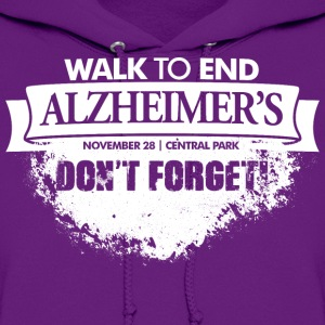 Alzheimer's Benefit - Don't Forget! - Women's Hoodie