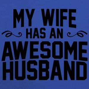 My Wife Has An Awesome Husband T-Shirts - Kids' Premium Hoodie