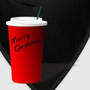 Merry Christmas Starbucks Men's Hoodie - Bandana