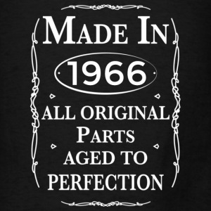 made in 1966 birthday Bags & backpacks - Men's T-Shirt