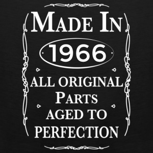 made in 1966 birthday Bags & backpacks - Men's Premium Tank