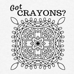 Got Crayons - White Baby   - Men's T-Shirt