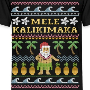 Mele Kalikimaka Christmas Kids' Shirts - Toddler Premium T-Shirt