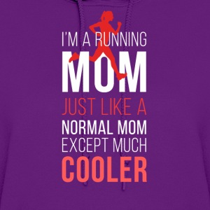 Running mom T-shirt Tanks - Women's Hoodie