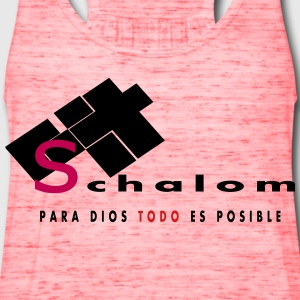 Shalom by Claudia-Moda - Women's Flowy Tank Top by Bella