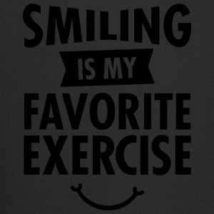 Smiling Is My Favorite Exercise T-Shirts - Trucker Cap