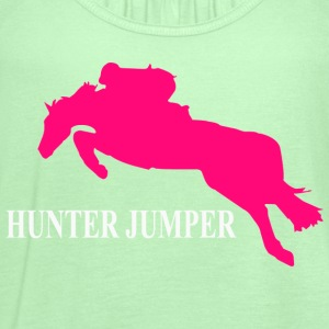 Hunter Jumper Baby & Toddler Shirts - Women's Flowy Tank Top by Bella
