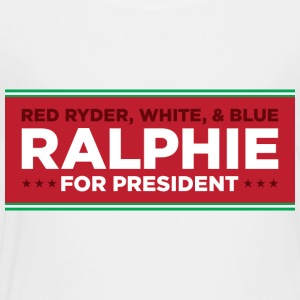 Christmas Story - Ralphie for President - Toddler Premium T-Shirt