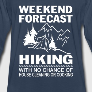Weekend forecast hiking - Men's Premium Long Sleeve T-Shirt