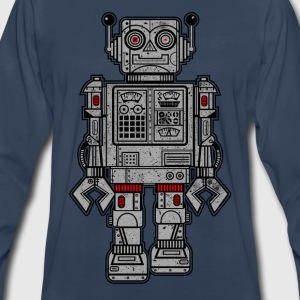 Retro Robot Toys - Men's Premium Long Sleeve T-Shirt