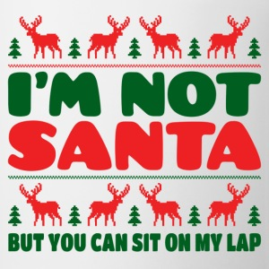 I'm Not Santa But You Can Sit On My Lab T-Shirts - Coffee/Tea Mug