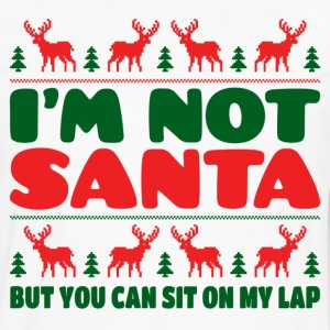 I'm Not Santa But You Can Sit On My Lab T-Shirts - Men's Premium Long Sleeve T-Shirt