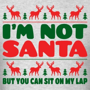 I'm Not Santa But You Can Sit On My Lab Hoodies - Men's T-Shirt