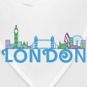 London Skyline Kids' Shirts - Bandana